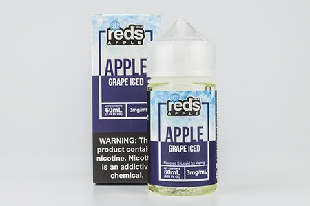 Apple Grape Iced - 3 мг/мл [Reds Apple, 60 мл]