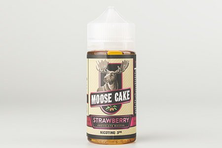Strawberry Moose Cake - 3мг/мл [Frisco Vapor (USA), 100 мл]