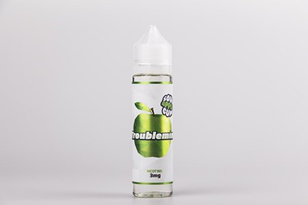 Troublemint Sour Apple Gum - 3мг/мл [Frisco Vapor (USA), 60 мл]