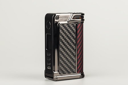 Lost Vape Paranormal 200W DNA250C TC - Gun Metal (Red/Black/Kevlar)